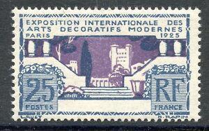 STAMP-TIMBRE-FRANCE-N-213-EXPO-ARTS-DECORATIFS-PARIS