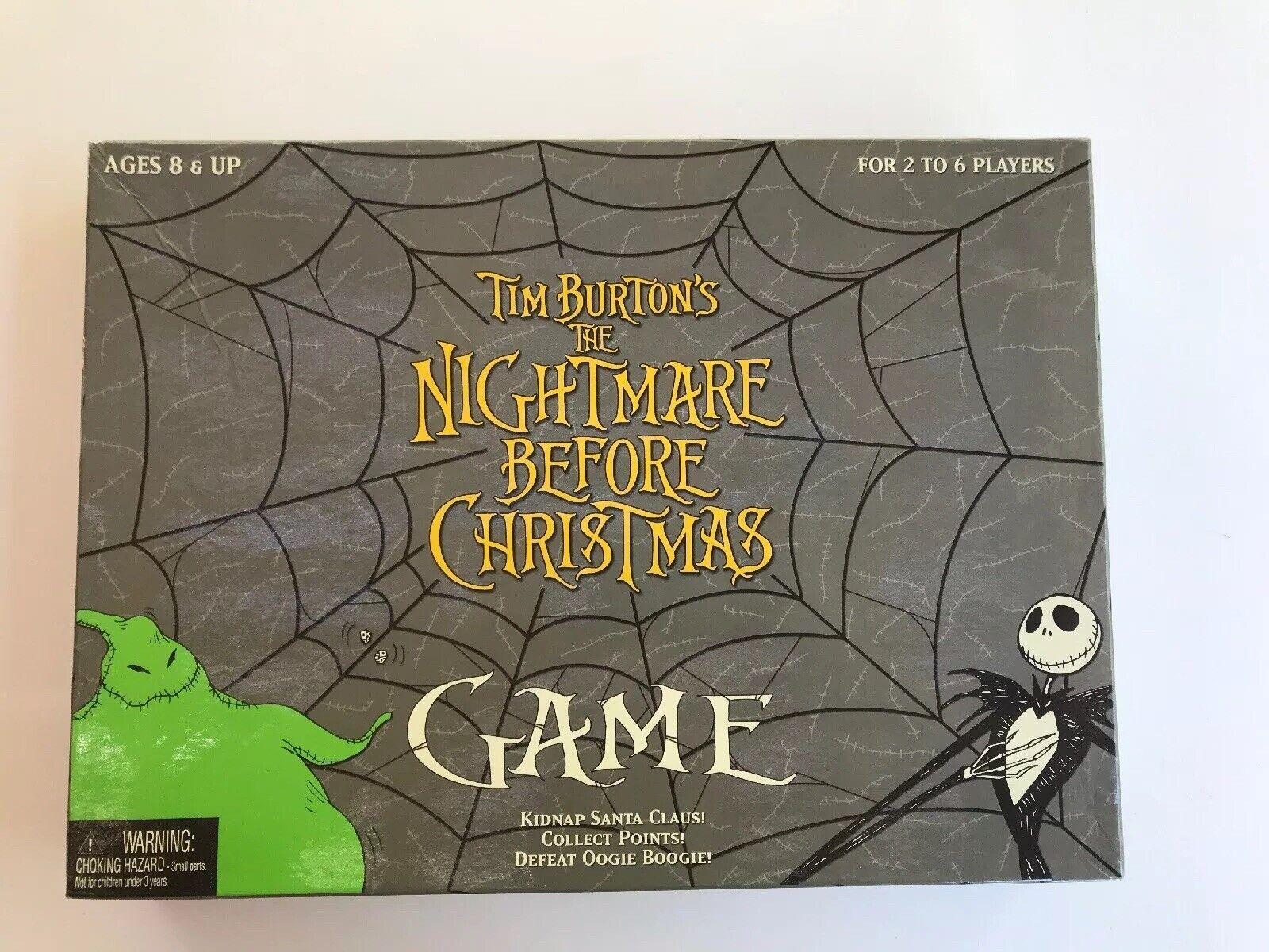 Tim Burton's The Nightmare Before Christmas Board Game by Neca