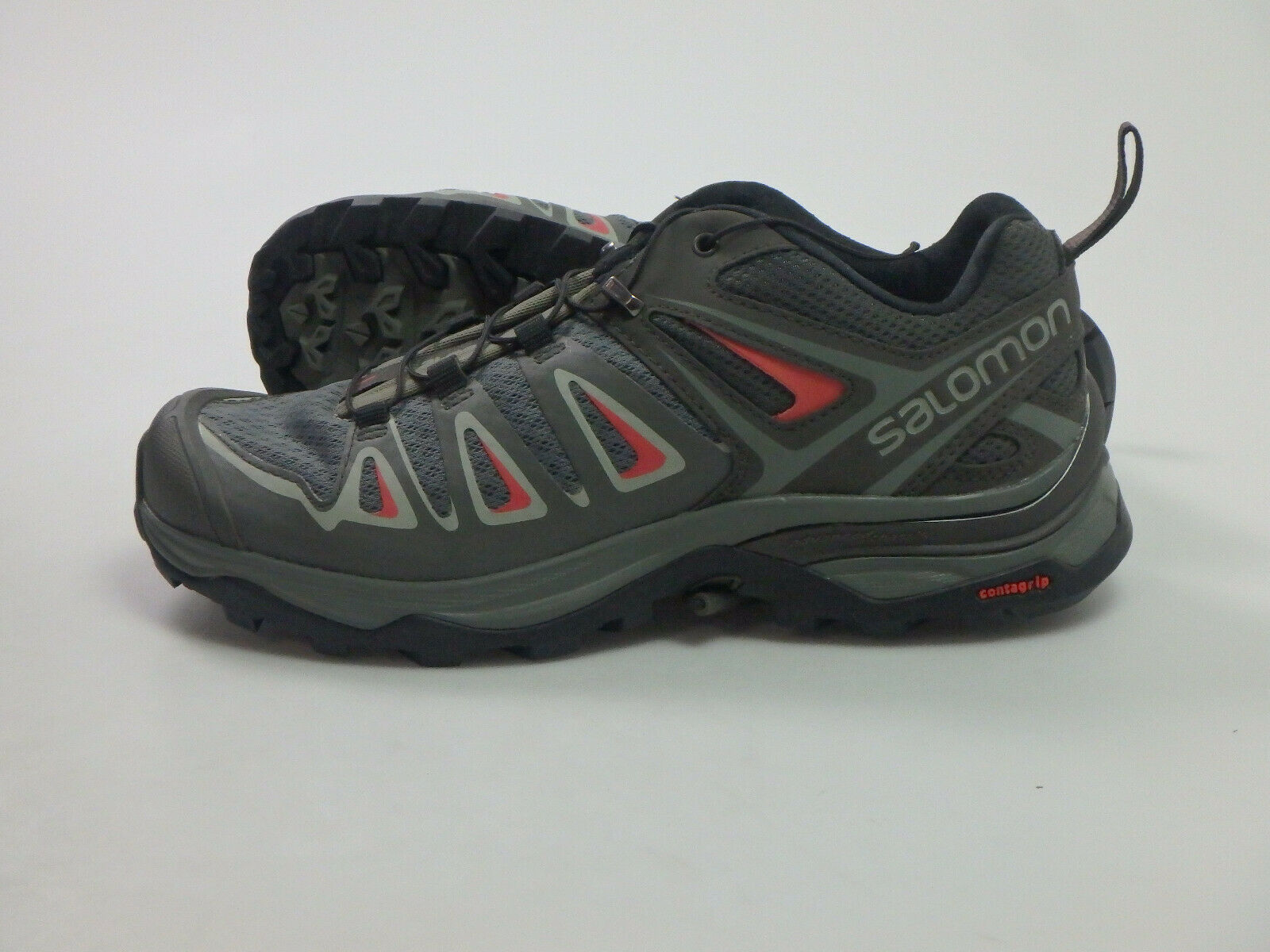 Salomon  31599 X Ultra 3 Low Walre Hire Sautope Escursionismo Donna Tg. 37 13 GRIGIO