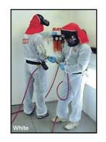 Sata Spray Equipment Paint Suit White Xl Sata