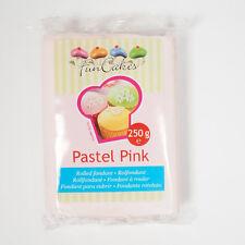 Pasta di zucchero colorata funcakes 250 Gr. - COLORE ROSA PASTELLO OFFERTA!