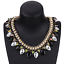 Ladies-Fashion-Crystal-Pendant-Choker-Chain-Statement-Chain-Bib-Necklace-Jewelry thumbnail 17