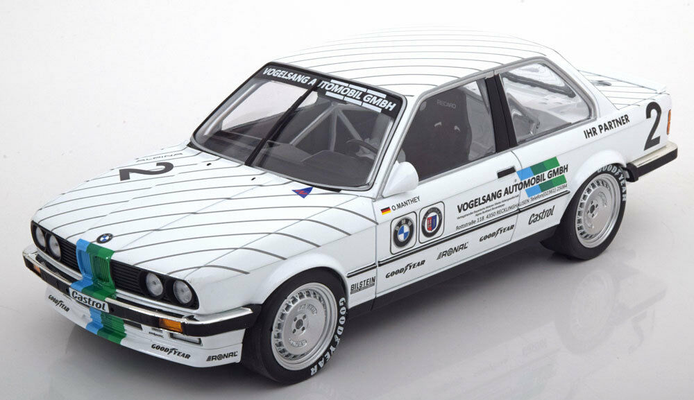 Minichamps BMW 325i DTM 1986 Manthey in 1 18 Scale. New LE of 350