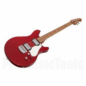 Music Man USA James Valentine STD MR - Husker Red *NEW* reflex axis silhouette