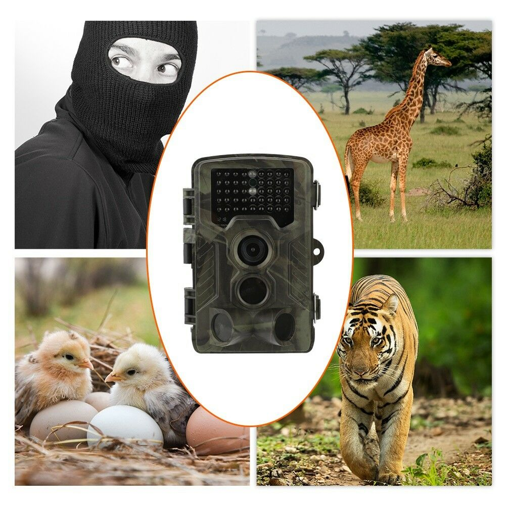 HC-800G LTE HD Hunting Trail Digital Animal Camera 16MP 4G MMS Scout Infrared