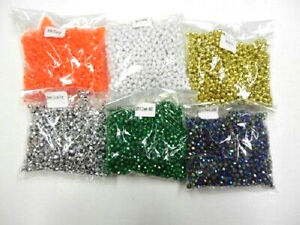 8mm Faceted Beads, One 8-oz Bag, Choose Your Color, Crafts, Fishing Lures #8MM