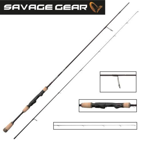 Savage Gear Custom UL Spin 198cm 2-7g Ultralight Spinnrute Finesseangeln