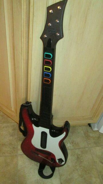 New Logitech Wireless Guitar Controller for Xbox 360 ...  Guitar Hero Guitar Wireless Xbox 360