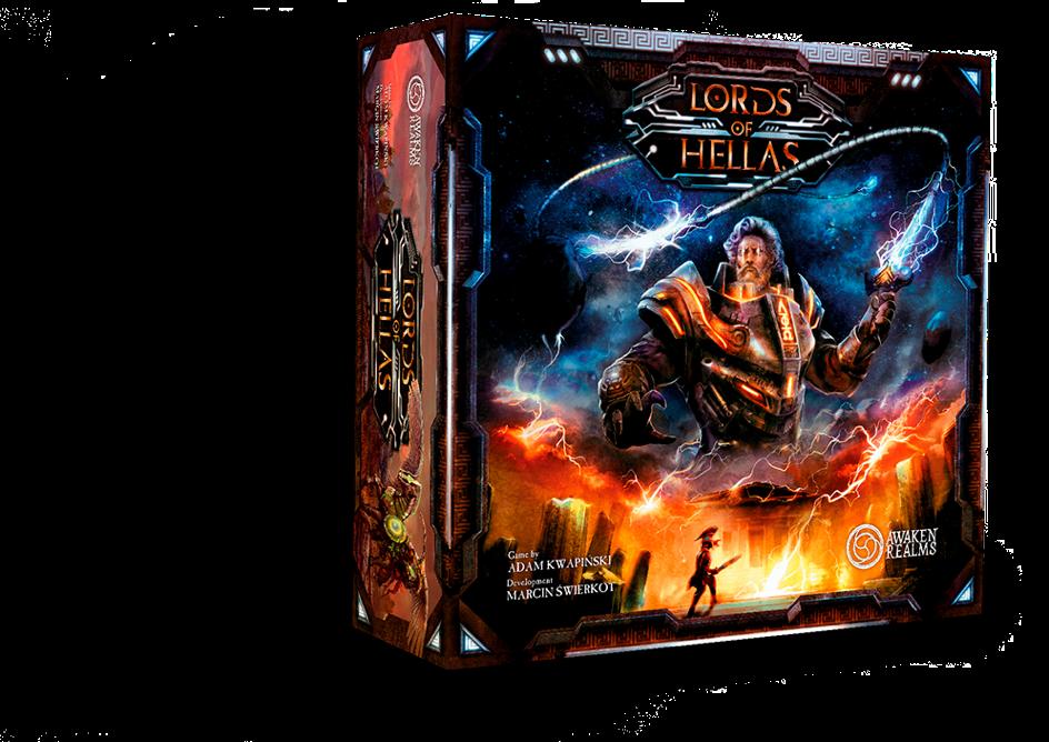 Lords of Hellas - Grundspiel Grundspiel Grundspiel • DEUTSCH NEU OVP 5c5d1c