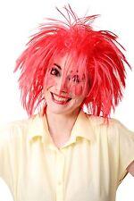 Parrucca Di Carnevale Parrucca Per Travestimento Di Carnevale Rosso Selvaggio