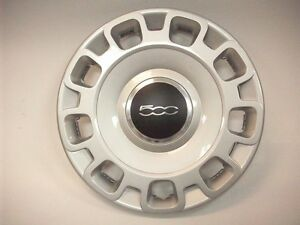 "2012-2016 fiat 500 15"" wheel cover hub cap 68078420ac new oem mopar"