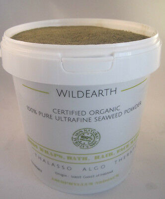 Organic Seaweed/Kelp Powder Bath/Spa/Skin Body Wrap Treatments Ultrafine
