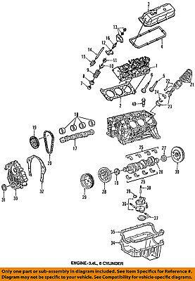 1991 pontiac 3 1 engine diagram gm oem engine oil pump drive gear 1104072 ebay  gm oem engine oil pump drive gear