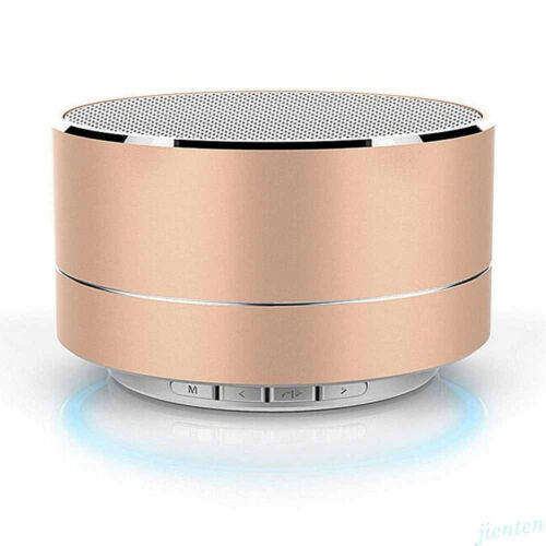 Portable LED Bluetooth Wireless Mini Super Bass Stereo Speaker for iPhone Tablet