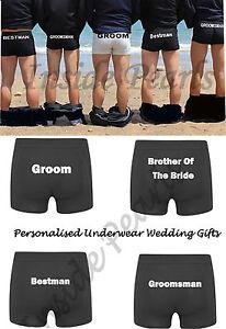 Groom Underwear