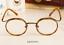 Vintage-Literary-TR90-Metal-Retro-eyeglass-frame-Round-Clear-Glasses-Women-Men thumbnail 18