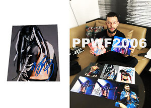 Wwe-Finn-Balor-Mano-Firmado-Autografiado-8X10-Foto-con-Foto-Prueba-y-COA