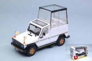 Papamobile-Mercedes-230-Ge-Papa-Giovanni-Paolo-II-Wojtyla-1980-2002-1-43-Model