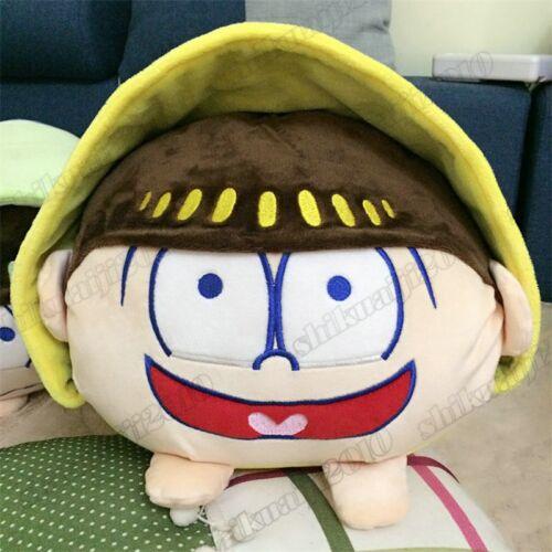 """15/""""Anime Mr.Osomatsu San SIX SAME FACES Konya wa Saikou Plush Toy Cushion Pillow"""