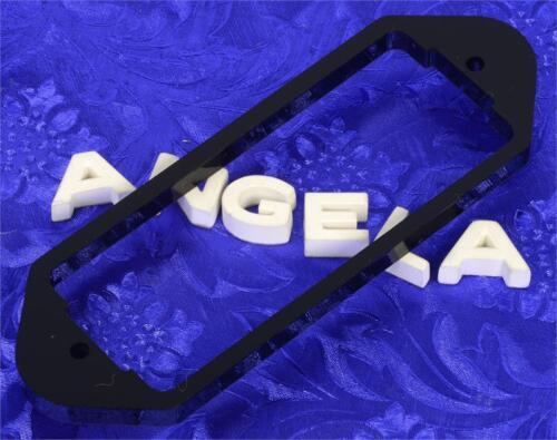 """Lindy Fralin Dogear P90 Black Plastic .225/"""" Neck Pickup Shim Spacer Riser Lifter"""