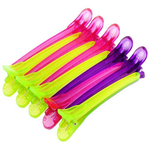 Bijoux de cheveux coiffeur besoins Hair Jewelry épingle à cheveux Compartiment Crochet Coloré 10 Pièce