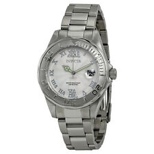 Invicta Pro Diver White Dial Stainless Steel Ladies Watch 14790