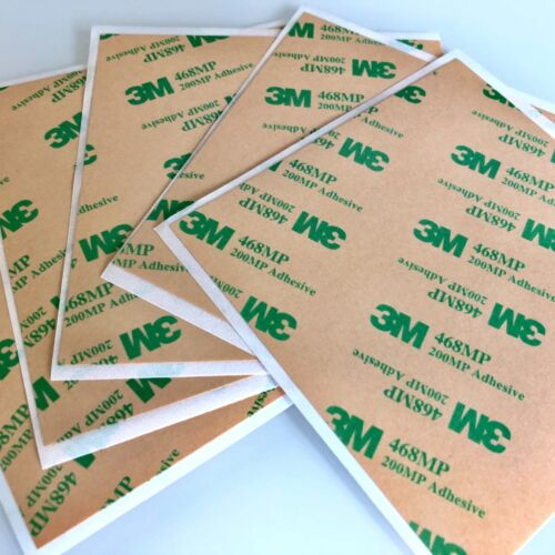 3M 468MP 10 x 8cm Sheet Double Sided Adhesive Tape 4 Touch Screen Phone Repair