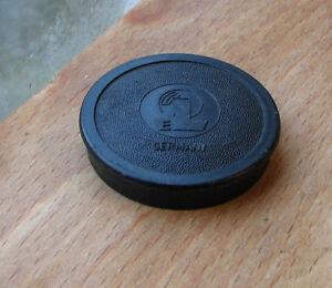 37mm push fit slip on german plastic front  lens cap used  , EL badge