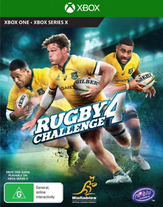 Rugby Challenge 4 Xbox Series X, Xbox One Game NEW