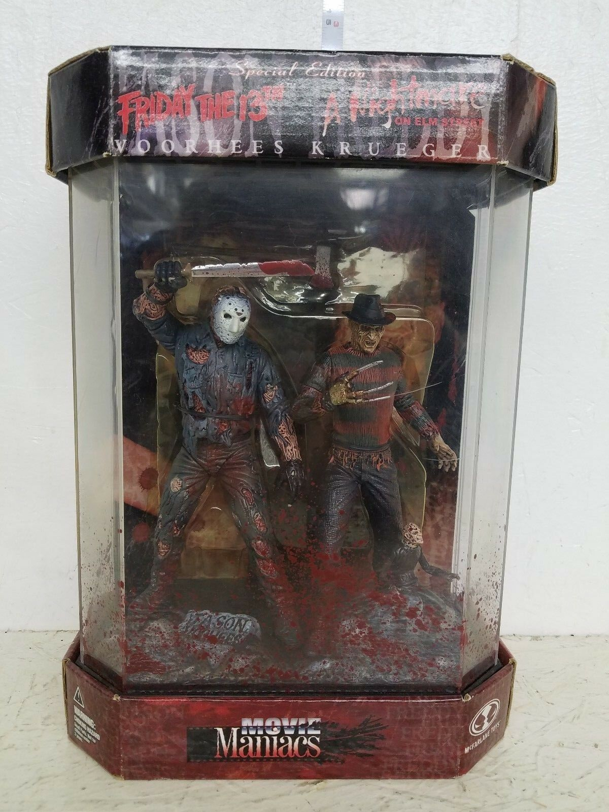 McFarlane Special Edition Jason Voorhees and Frossody Kruger Figure set B
