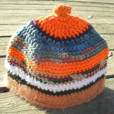 Adorable Multicolor Infant Beanie (Size 6-18 Months) - Handmade by Michaela