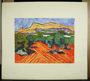 Georges-Marchou-1898-1984-Kunstblatt-Originell-Unterzeichnet-c1960-36-100