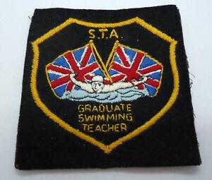 Rare Vintage Scuba Diving Patch STA Teacher