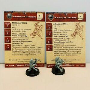 Dungeons & Dragons Whitespawn Hordeling LOT X2 D&D Miniature