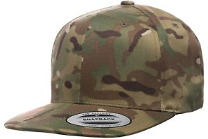 376ef50a930 Image is loading Yupoong-6089MC-GREEN-MultiCam-Snapback-Hat-Camo-Classic-