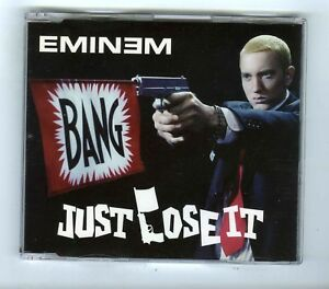 4-TRACK-PROMO-MAXI-CD-SINGLE-EMINEM-JUST-LOSE-IT