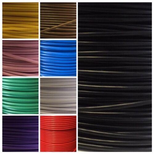 Thin wall 1mm 12V 24V single core 16.5amp  Auto Marine Cable flex wiring loom