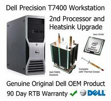 Dell Precision T7400 Workstation 2nd processore e dissipatore di calore aggiornamento FD841 X5260
