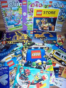 Gros Lot de Pub LEGO - Livre - Catalogue - Feuillet - Book Collection 1990 2018