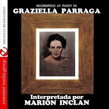 Marion Inclan - Recordando la Musica de Graziella Parraga [New CD] Manufactured