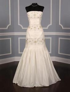 AUTHENTIC-Anne-Barge-LF132-B-Ivory-Silk-Taffeta-Wedding-Dress-6-RETURN-POLICY