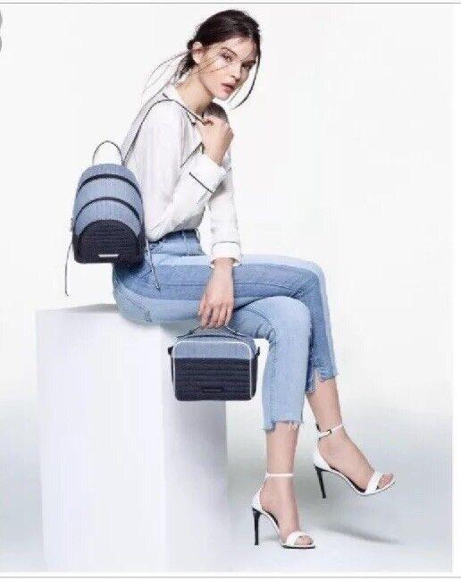 Kendall Kendall Kendall Kylie Elin damen Weiß Open Toe Ankle Strap SandL Heels 8.5 M NWOB e01a88