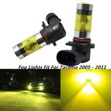 100w Fog Lights For Toyota Tacoma 2005 2011 3000k Yellow 100w Led Bulbs