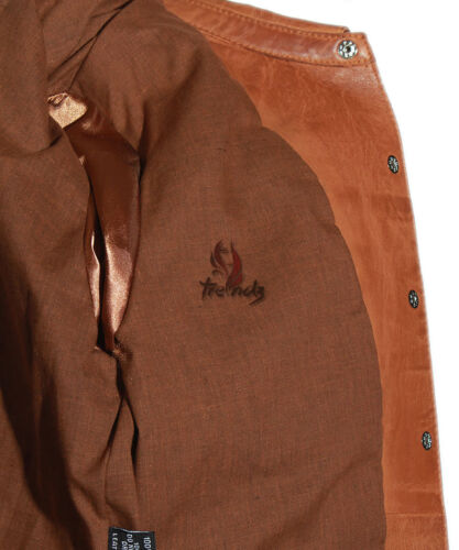 Ladies YVONNE TAN Western Casual Smart Real Soft Lambskin Leather Shirt Jacket
