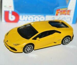 Burago-1-43-Diecast-Modelo-Coche-Lamborghini-Huracan-LP610-4-Blanco-Gris