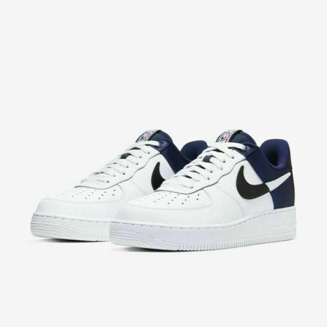 Nike Air Force 1 07 LV8 1 NBA AF1 Navy Navy White Mens Shoes BQ4420 400 Size 13