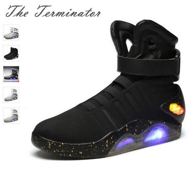 Tenis De Vuelta TO THE WARRIOR baloncesto Casual LED FUTURE Zapatos de luz Llavero