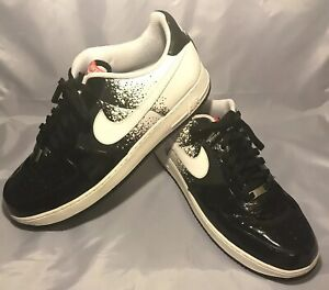 Details about RARE Nike Air Force 1 Premium Low Splatter Tennis Pack Size 17 318775 011 2009