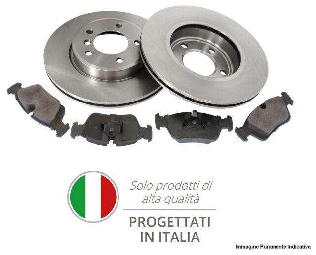 2 DISCHI FRENO FORATI ANTERIORE BREMBO ALFA ROMEO GIULIETTA 1.4 TB KW:125 2010/>