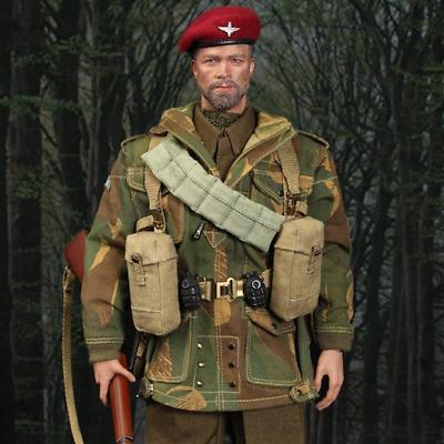 "DID K80136 1//6 WWII British 1st Airborne /""Red Devils/"" Sergeant Charlie Shovel"